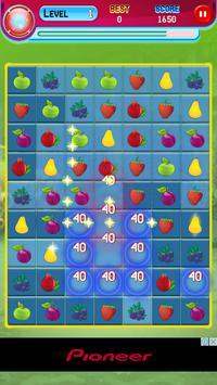 Sweet Fruit Match 3 screenshot 4