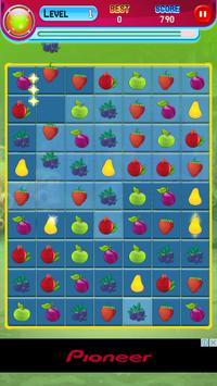 Sweet Fruit Match 3 screenshot 5