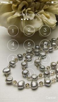 Pearl Jewerly Password Lock apk screenshot