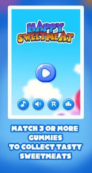 Happy Sweetmeat - Match 3 apk screenshot