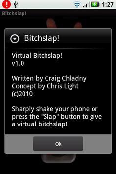 Virtual Bitchslap apk screenshot