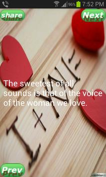 Love Sweet Quotations poster