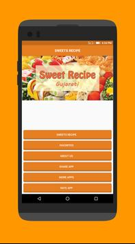 Sweets Recipes in Gujarati poster