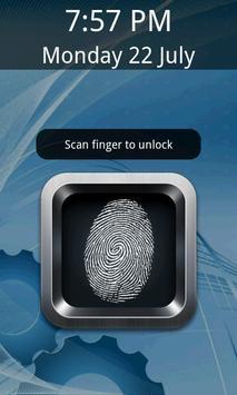 Biometric Lock Simulator:Prank poster