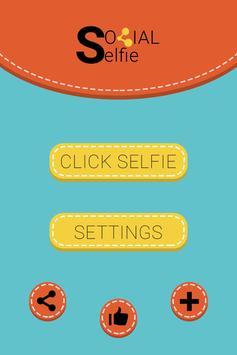 Social Selfie Post : Quick DP poster