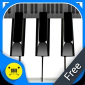 Real Piano Keyboard : Digital icon