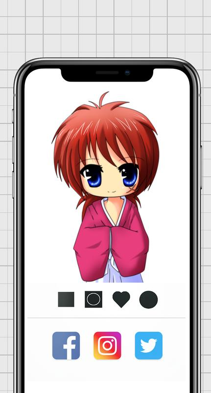 Anime & Manga Color by Number - Pixel Art Coloring for ...