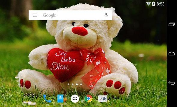 Sweet teddy bear wallpaper hd apk download free personalization sweet teddy bear wallpaper hd apk screenshot voltagebd Images
