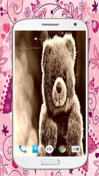 Sweet Teddy Bear Wallpaper HD Apk Screenshot