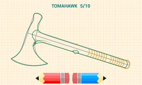 How to Draw Weapons 截图 15