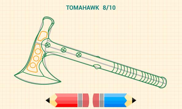 How to Draw Weapons 截图 16