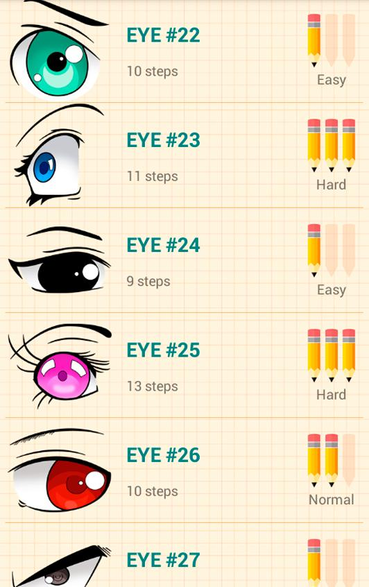 How to Draw Anime Eyes poster