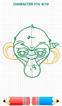 How to Draw Graffiti Characters 截圖 10