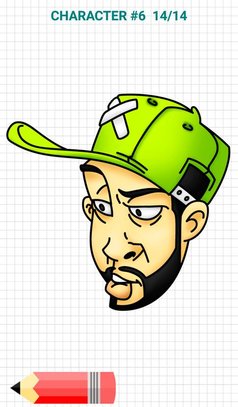 Character Design Apps For Android : How to draw graffiti characters apk download free art
