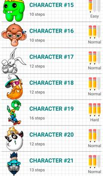 How to Draw Graffiti Characters 截圖 13