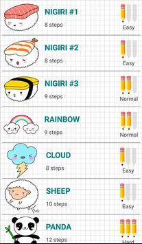 How to Draw Kawaii Drawings screenshot 1