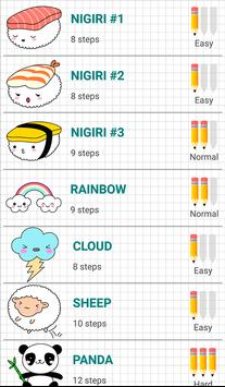How to Draw Kawaii Drawings screenshot 7