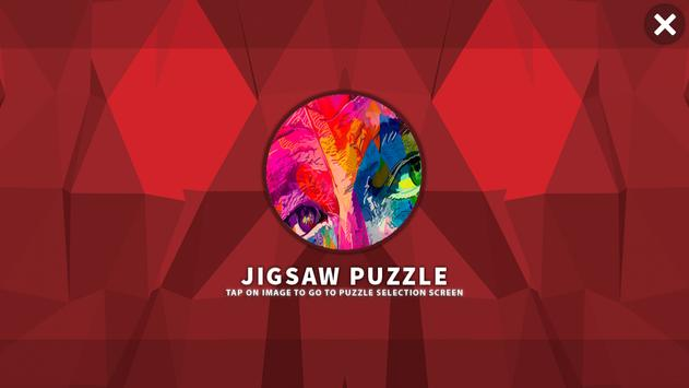 Colour HD Jigsaw Puzzle Free poster
