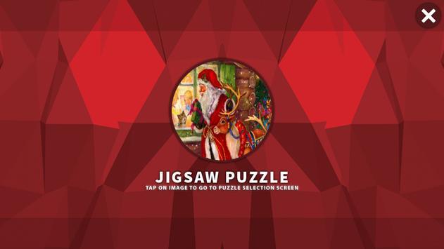 Santa HD Jigsaw Puzzle Free poster