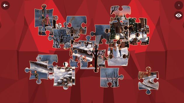 Santa HD Jigsaw Puzzle Free apk screenshot