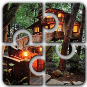 Treehouse HD Jigsaw Puzzle Free icon