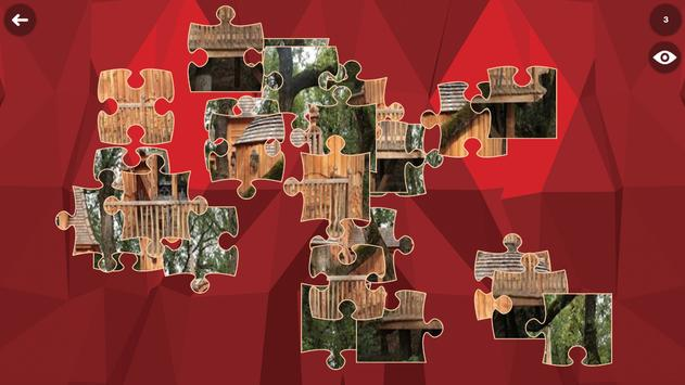 Treehouse HD Jigsaw Puzzle Free screenshot 3