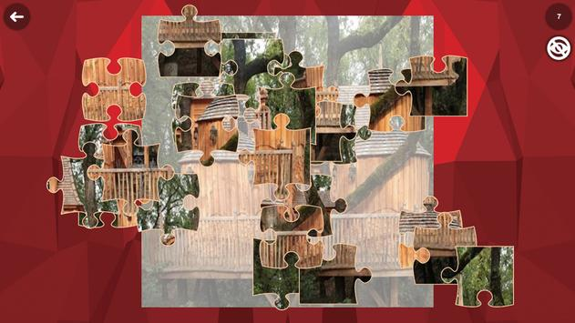 Treehouse HD Jigsaw Puzzle Free screenshot 4