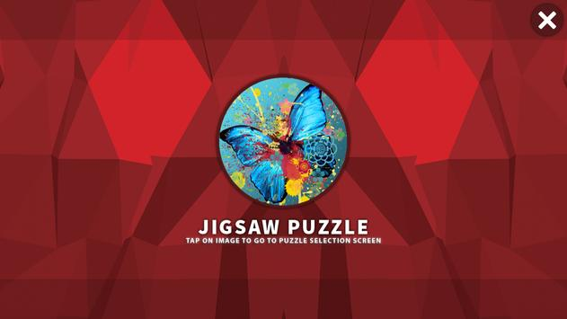 Butterfly HD Jigsaw Puzzle poster