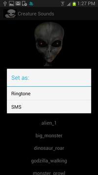 Creature Sounds apk screenshot