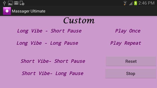 Massager Ultimate screenshot 3