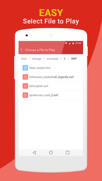 Flash Video Player screenshot 7