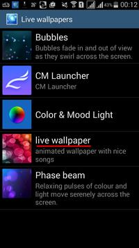 Live Wallpaper apk screenshot
