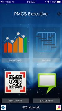 PMCS Executive screenshot 1