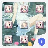 Anime girl Theme icon