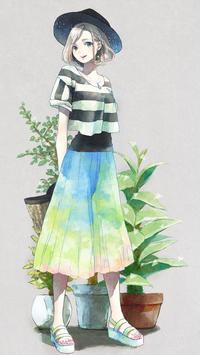 Anime girl 10 Theme apk screenshot
