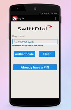 SwiftDial screenshot 1