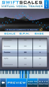 SWIFTSCALES - Vocal Trainer poster