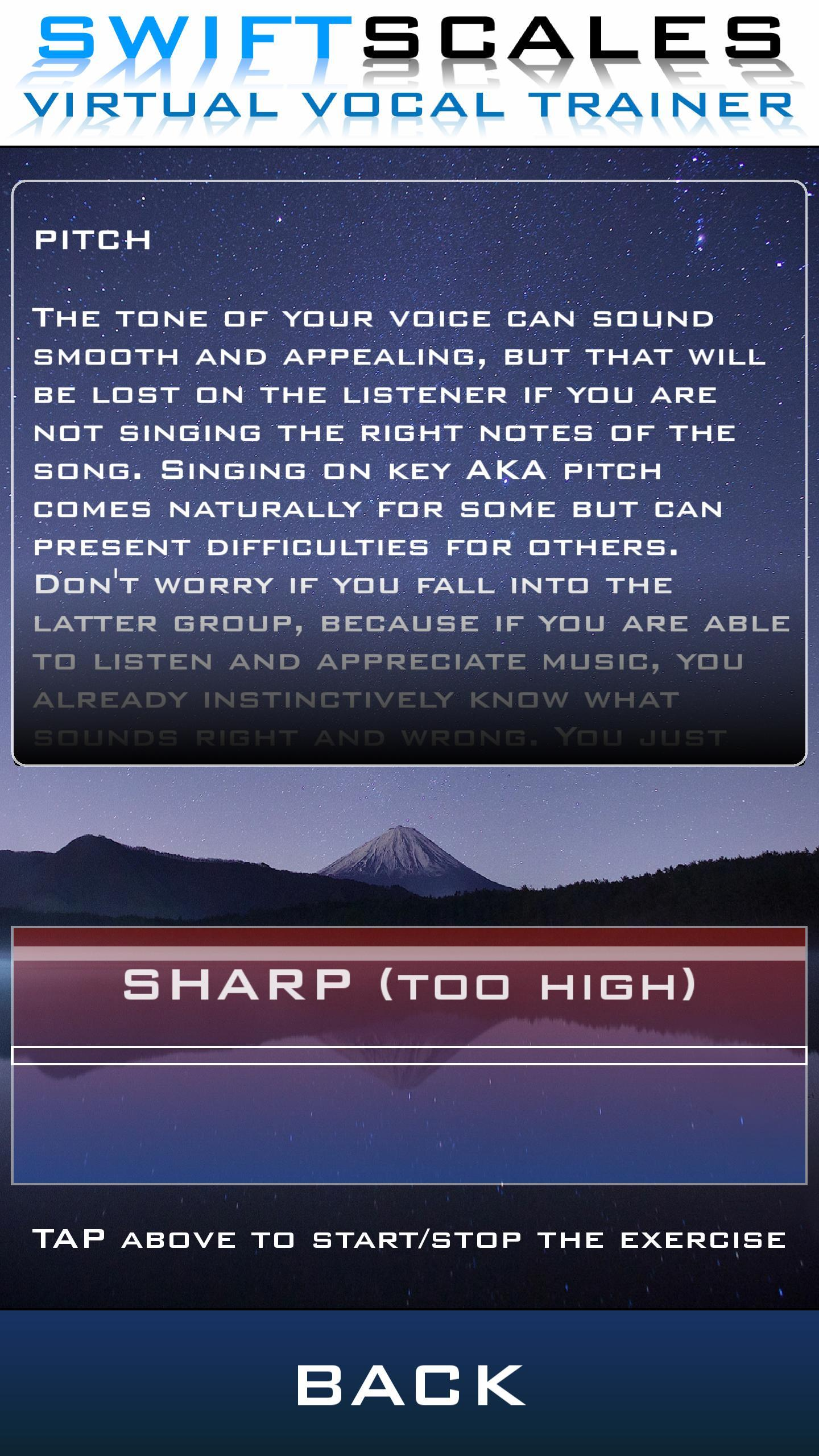 SWIFTSCALES - Vocal Trainer for Android - APK Download