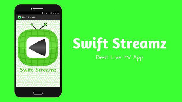 Swift Streamz Pro guide apk screenshot