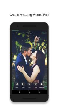 Pixgram- video photo slideshow poster