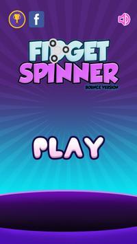 Fidget Spinner - Bounce Hand poster