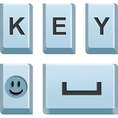 Swipe Blue Keyboard icon