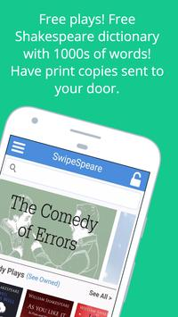 Shakespeare SwipeSpeare apk screenshot