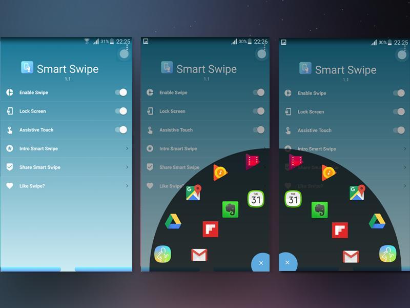 Android için Smart Swipe - APK'yı İndir