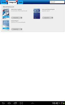 Swisscom Library apk screenshot