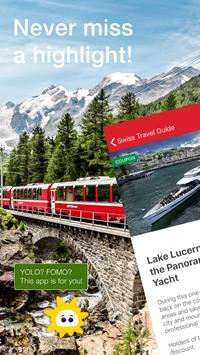 Swiss Travel Guide poster