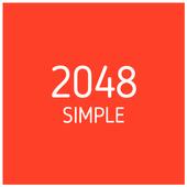 simple 2048 icon