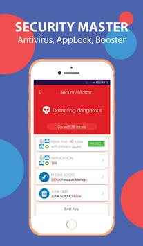 Super Antivirus Cleaner Booster - Easy Security apk screenshot