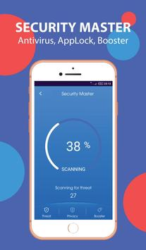 Super Antivirus Cleaner Booster - Easy Security screenshot 1
