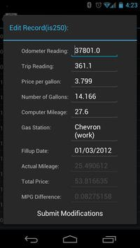 Mileage Tracker screenshot 1